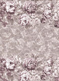 Faded floral pattern stock photos
