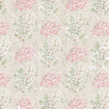 Faded floral wallpaper Royalty Free Stock Photos
