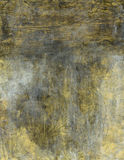Faded Gold Background Painting Royalty Free Stock Photo
