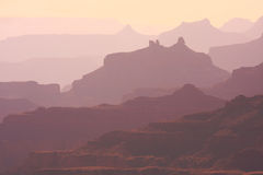 Faded Grand Canyon Abstract Royalty Free Stock Images