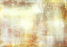 Faded grunge text background Stock Photo