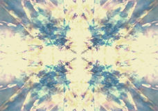 Faded kaleidoscope background Stock Images