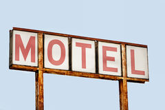 Faded motel sign Royalty Free Stock Image