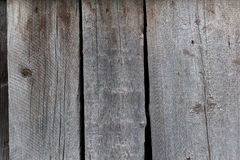 Faded Old Planks. Close-up of an old faded black and grey plank Stock Photo