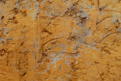 Faded paint on colonial wall. Royalty Free Stock Photo