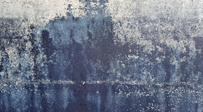 Faded paint and metal corrosion Stock Photography