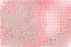 Faded polka dot background Stock Photo