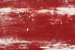 Faded red painted wood Stock Image