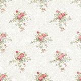 Faded seamless flower pattern ornament background Stock Image