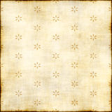 Faded, stained print fabric royalty free illustration