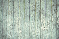 faded turquoise painted barn wood Stock Photos