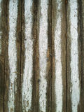 Faded white wooden fence. Vertical faded white wooden fence Royalty Free Stock Photography
