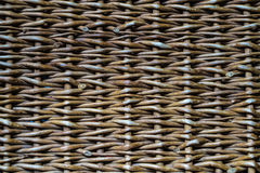 Faded wicker. Faded brown wooden wicker on the froor Stock Photo
