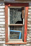 Faded window frame stock photos