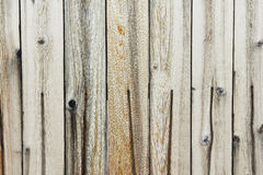 Faded Wood Fence Royalty Free Stock Images
