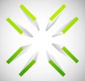Fadenkreuz, Zielkennzeichensymbol Stimmen Sie, Präzision oder Genauigkeit überein lizenzfreie abbildung