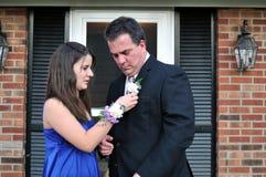Fader-dotter dans Arkivfoto