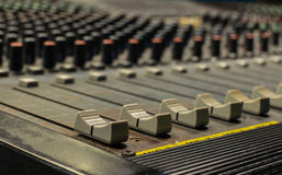 Fader mixer Stock Images
