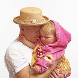 faderförälskelse Fotografering för Bildbyråer