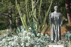 FaderJunipero Serra staty Arkivbilder
