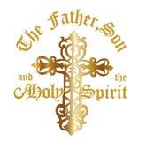Fadern, sonen & den heliga anden Royaltyfri Bild