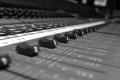 Faders 01 Royalty Free Stock Photo