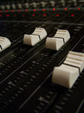 Faders Royalty Free Stock Image