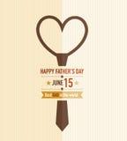 Faders band för förälskelse för dag Royaltyfri Foto