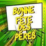 Faders f?r Bonne stor festDes Peres dag i franska fotografering för bildbyråer