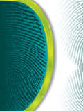 Fading fingerprints Royalty Free Stock Photography