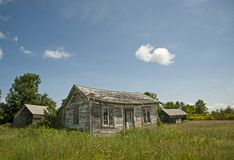 Fading Homestead. In Upstate New York Stock Photos
