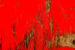 Fading Red Paint Royalty Free Stock Photos
