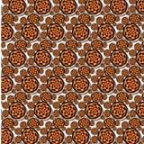 Fading Su Afro Pattern Stock Image