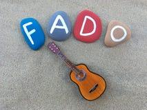 Fado conceptual composition Stock Image