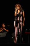 Fado Female Singer_Music_ Live Concert_Woman_Guitar Royalty Free Stock Image