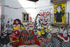 Fado Graffitti Images libres de droits