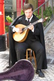 Fado guitar player Royalty Free Stock Photos