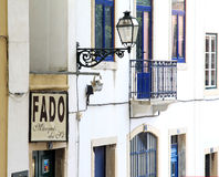 fado lisbon Португалия downton атмосферы Стоковое Фото