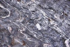 Fałdowa skała Obrazy Stock