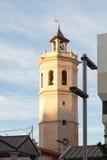 Fadrien, klockatorn av Co-domkyrkan av Castellà ³ n, Spanien royaltyfri bild