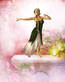 The fae dancer Royalty Free Stock Images