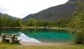 faeder湖 库存照片