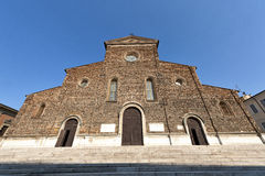 Faenza, Cathedral facade, Renaissance era Royalty Free Stock Photography