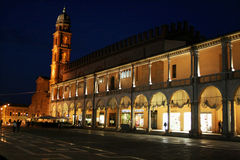 Faenza by night Royalty Free Stock Images