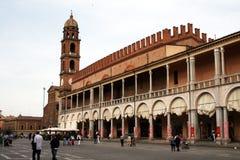 The faenza square Royalty Free Stock Photo