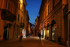 Faenza street Stock Images