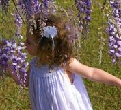 Faerie de la flor fotografía de archivo