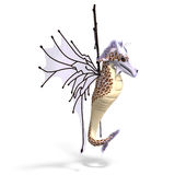Faerie Fantasy Dragon Stock Photo