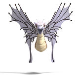 Faerie Fantasy Dragon Royalty Free Stock Photo