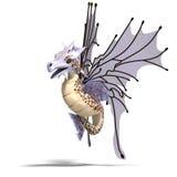 Faerie Fantasy Dragon Stock Photography